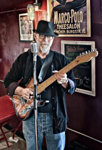 Calgary blues guitarist Neil Hardwire Speers