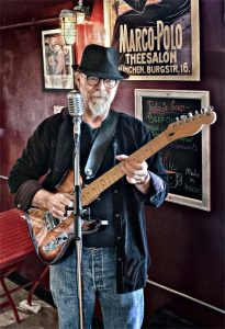 Calgary blues guitarist and singer/songwriter Neil Hardwire Speers